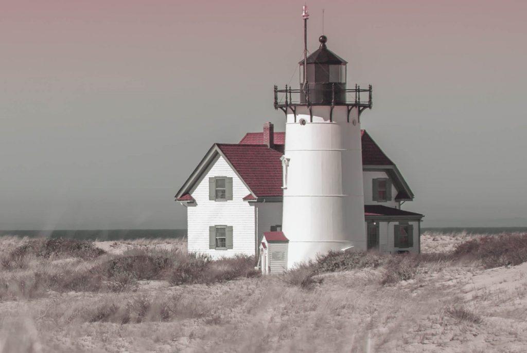 Provincetown, Cape Cod. Race Point Lighthouse.