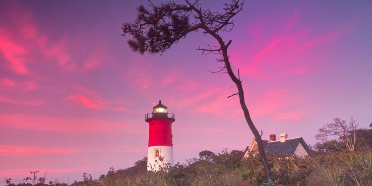 Nauset Lighthouse, Cape Cod National Seashore