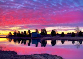 Cape Cod National Seashore Sunrise, Salt Pond Visitor Center, Eastham, MA.